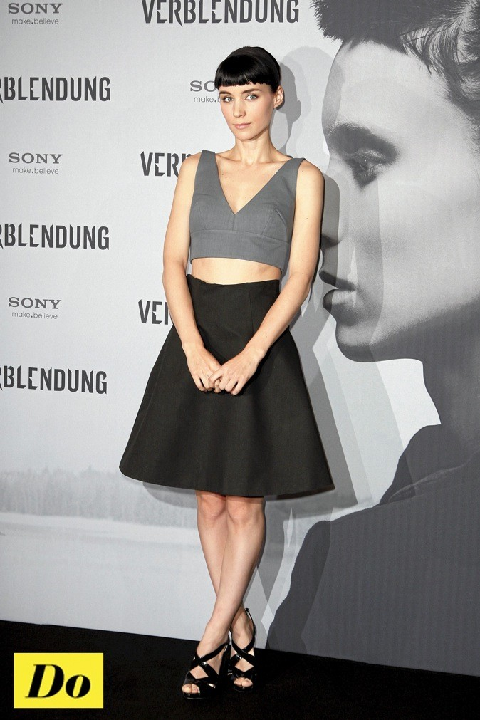 Rooney Mara : graphique chic !