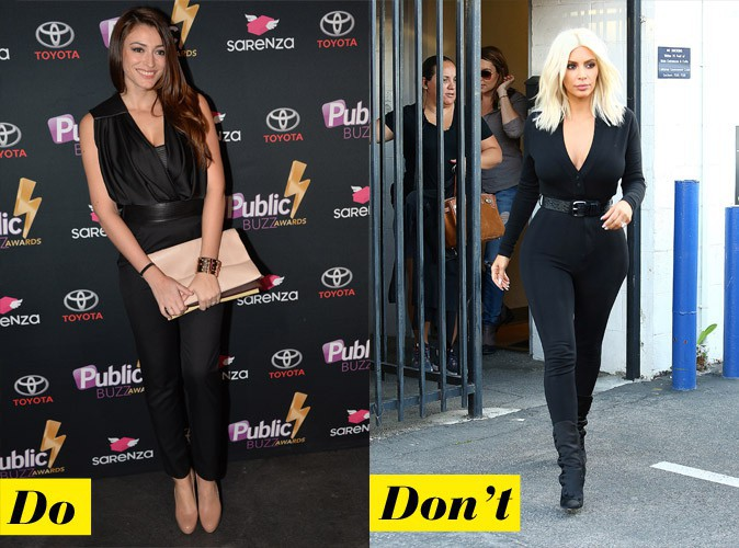 Do et don't : le jumpsuit noir