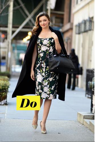Do : Miranda Kerr et sa robe à fleurs
