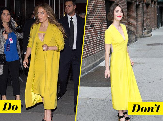 La tenue jaune