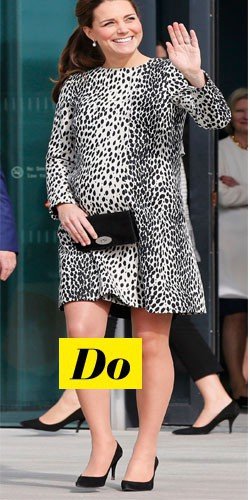 Do : Kate Middleton et sa robe léopard