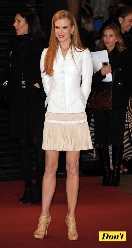 Nicole Kidman : la classe naturelle !