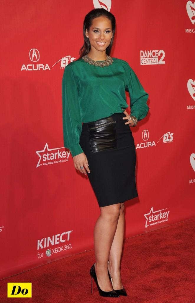 Alicia Keys : une vraie fashionista !