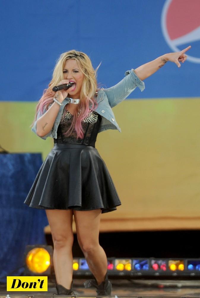 Demi Lovato : pas très hot !
