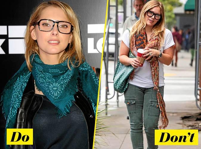 Do / Don't : on s'inspire (ou pas) des stars pour la forme des lunettes !