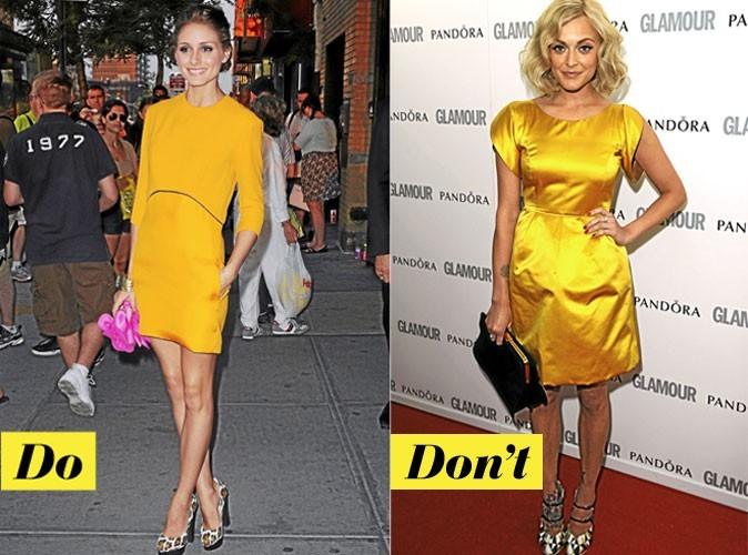 Look de star été 2011 : mode d'emploi de la robe jaune !