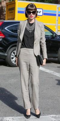 Coco Rocha : une working-girl ultra chic pour la Fashion Week !