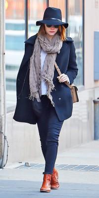 Emma Stone : un look passe-partout !