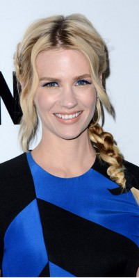 January Jones : un maquillage doré pour briller !