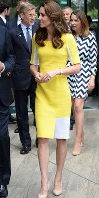 Kate Middleton : robe jaune poussin et sourire radieux pour accueillir l'été avec glamour et élégance !