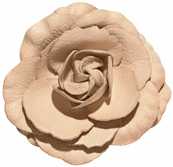 Fleur en cuir, 9,95€
