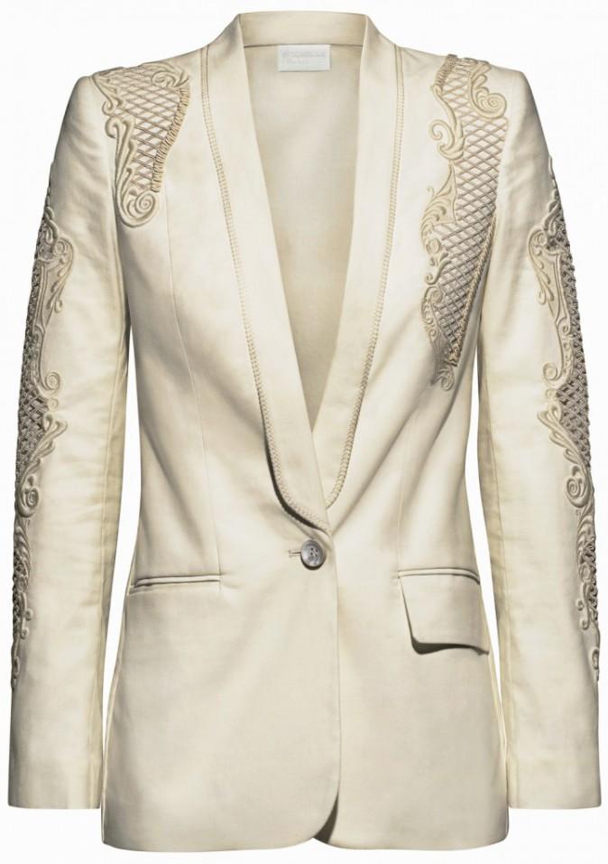 Veste en coton organique et chanvre, 129€