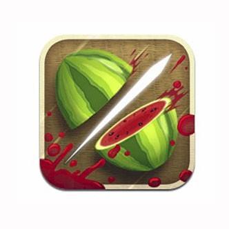 Application pour Smartphone Fruit ninja