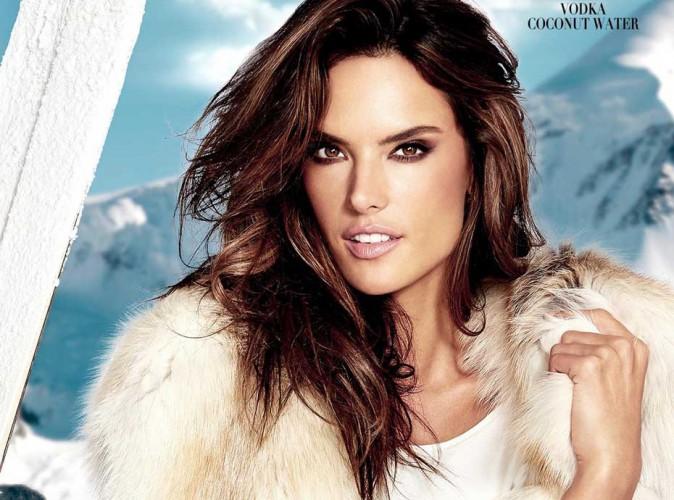 Alessandra Ambrosio : une reine des neiges pour VOCO !
