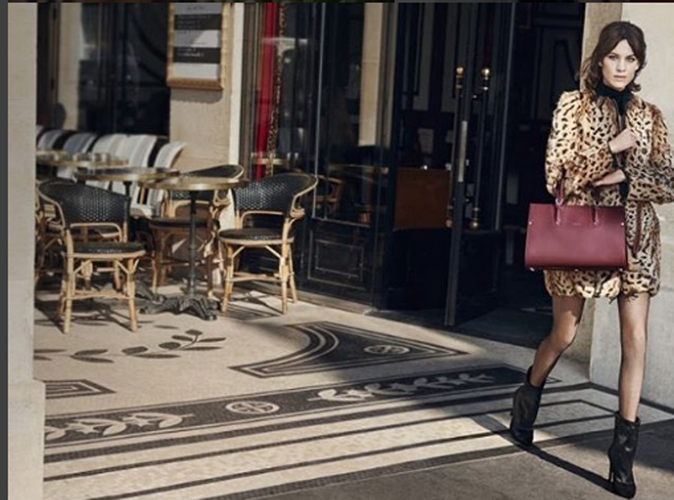 Alexa Chung : parisienne chic pour Longchamp