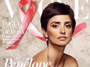 Avec sa coupe garçonne, la glamour Penélope Cruz pose en une de Vogue Espagne !