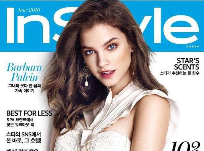 Barbara Palvin : angélique en couverture du magazine Instyle Corée