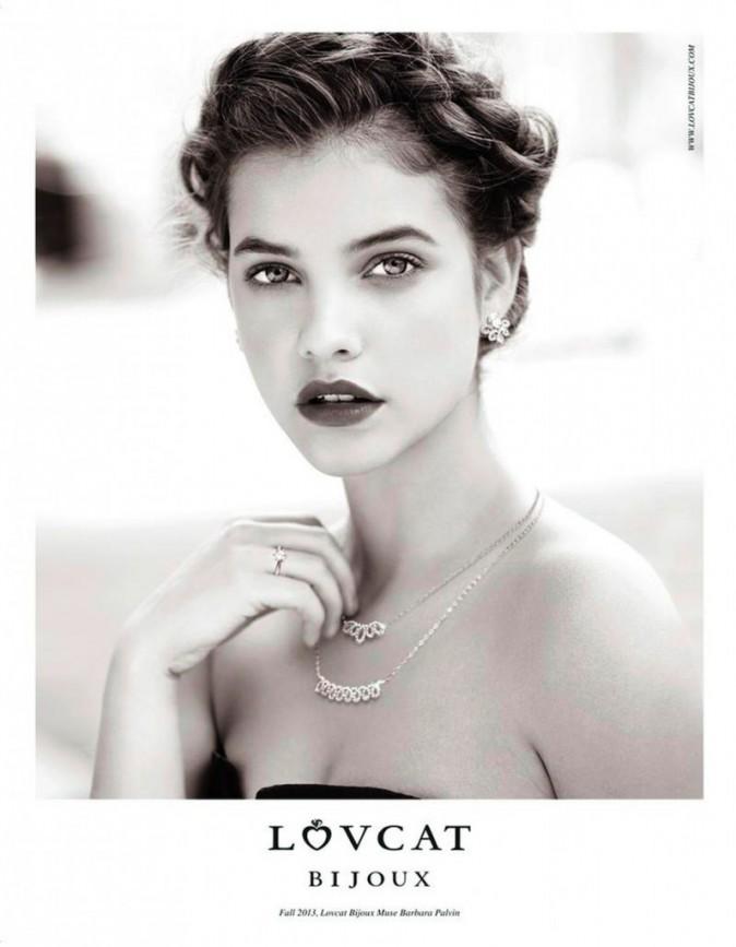 Barbara Palvin : une l'Oréal Girl mutine et exquise pour Lovcat automne hiver 2013 !