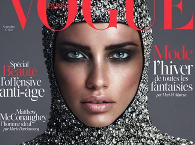 Beauté : Adriana Lima : elle se la joue médiévale mais sexy pour Vogue !