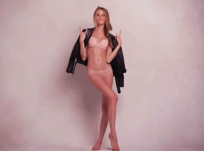 Beauté : Behati Prinsloo : une fiancée pas si sage qu'il n'y paraît pour le nouveau parfum de Victoria's Secret !
