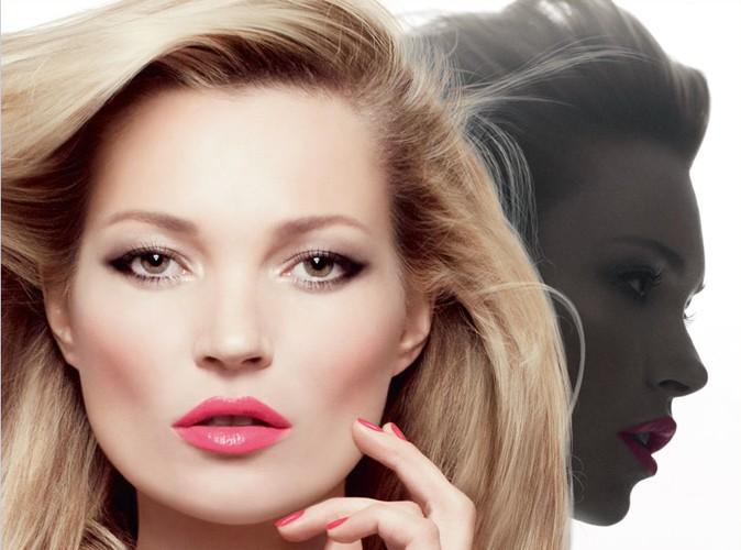Beauté : Kate Moss, fatale et irrésistible pour le nouveau rouge Dior !