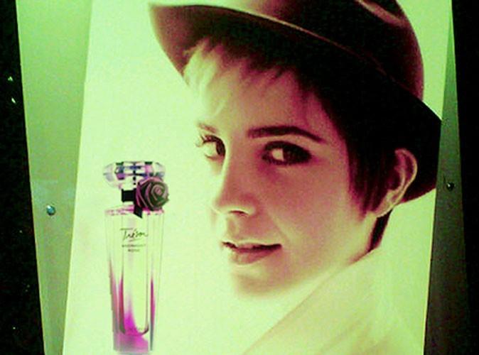 Beauté : la première photo d'Emma Watson pour le parfum Trésor de Lancôme !