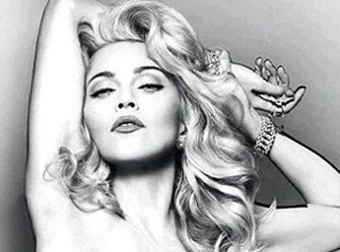 Beauté : Madonna entièrement nue pour la pub de son nouveau parfum !