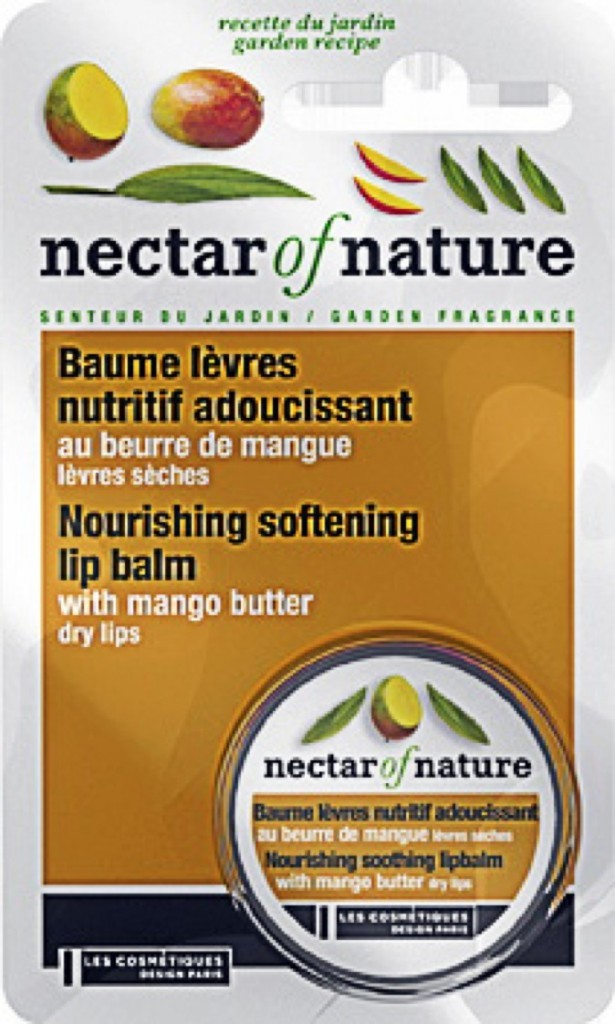 Baume à lèvres Nectar Of Nature. 2,90€
