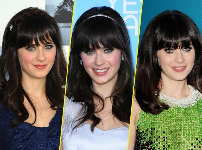 """Beauté : Zooey Deschanel : """"J'adore mes cheveux !"""""""