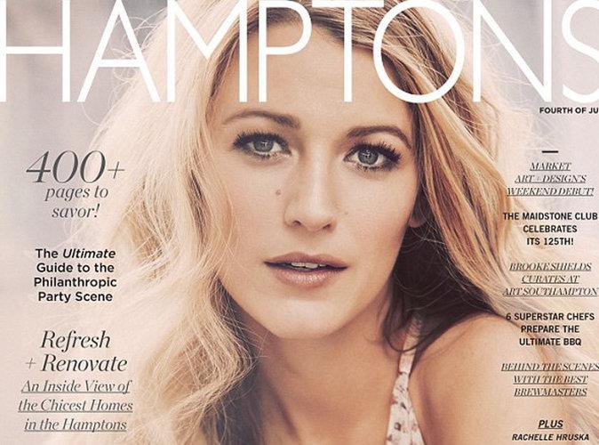 Blake Lively : Enceinte, heureuse et radieuse en couverture du magazine Hamptons