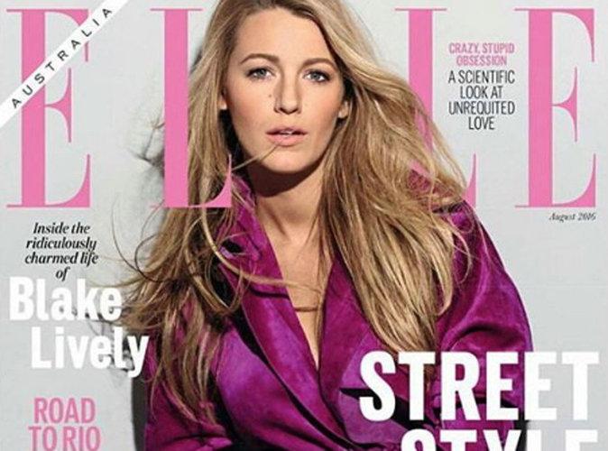 Blake Lively : une future maman tendance et sexy pour ELLE Australie