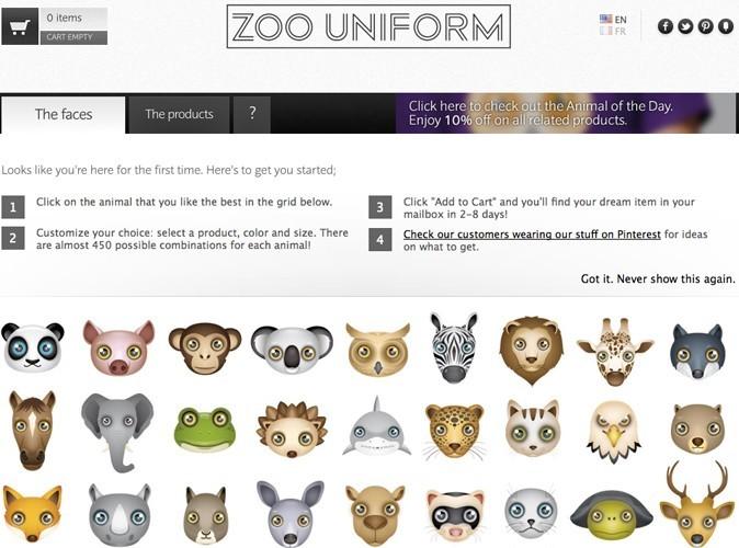 Bon plan : profitez de 15% de réduction sur le site zooniform.com !