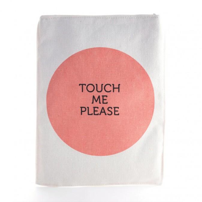 Pochette iPad, en coton mélangé, twicy-store.com 7€