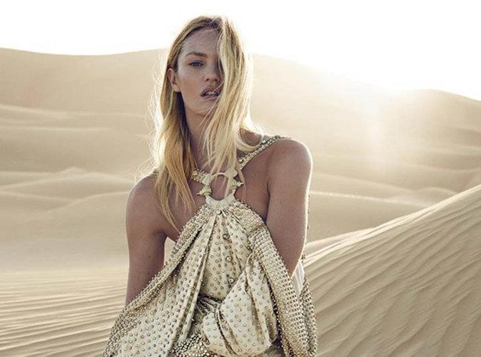 Candice Swanepoel : La top sud-africaine est l'égérie du nouveau parfum Givenchy