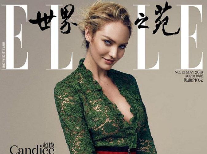 Candice Swanepoel : so glam' pour l'édition chinoise du magazine ELLE