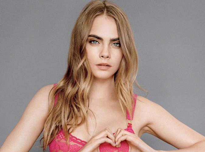 Cara Delevingne : en lingerie pour combattre le cancer du sein !