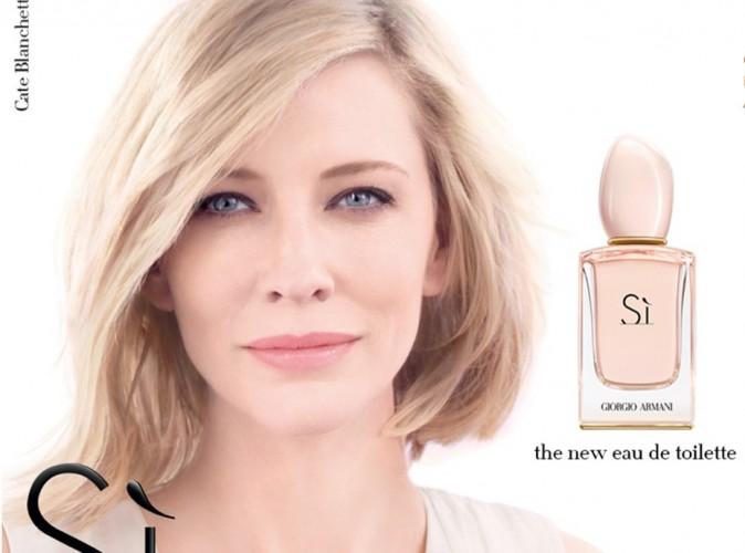 "Cate Blanchett : on dit ""Si"" à son glamour pour Giorgio Armani !"