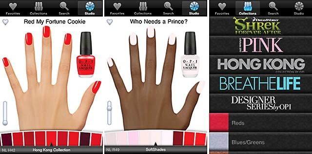 Evaluer le rendu des couleurs sur vos ongles !
