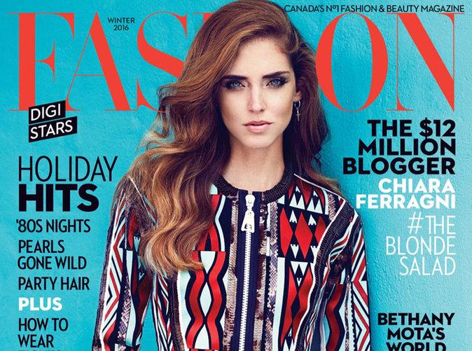 Chiara Ferragni : sexy à souhait pour Fashion Magazine !