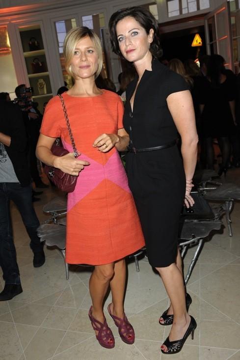 Marina Foïs et Katia Lewkowicz chez Dior