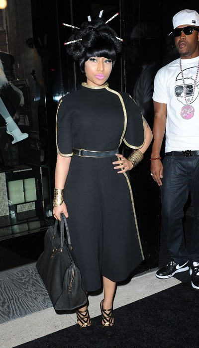 Nicki Minaj chez Yves Saint Laurent