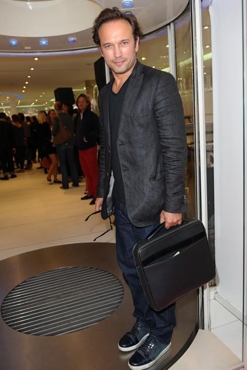 Vincent Perez chez Courrèges
