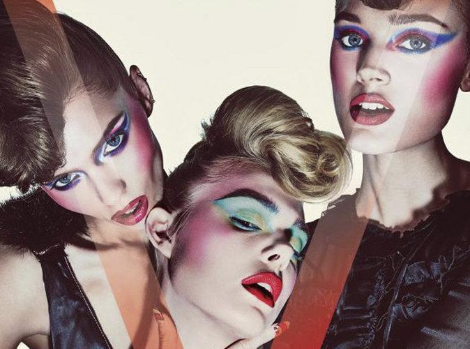 Elle Fanning, Bella Heathcote et Abbey Lee, trois poupées blondes sexy et dangereuses en couverture de V Magazine