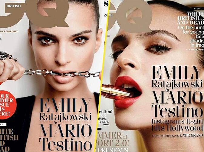 Emily Ratajkowski : envoûtante pour GQ magazine !