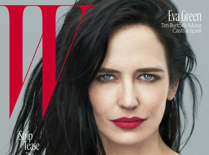 Eva Green ensorcelle la couverture de W magazine !