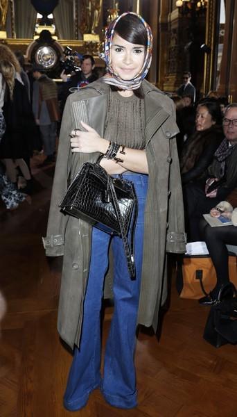 Miroslova Duma chez Stella McCartney - Fashion week automne-hiver 2013/14