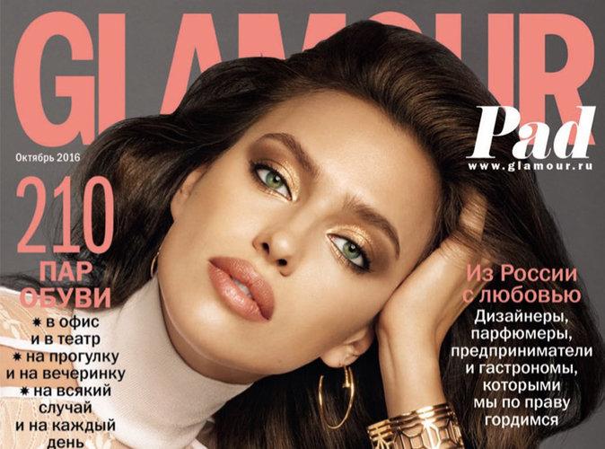 Irina Shayk : en icône des années 70, elle nous offre un retour vers le passé pour Glamour Russie !