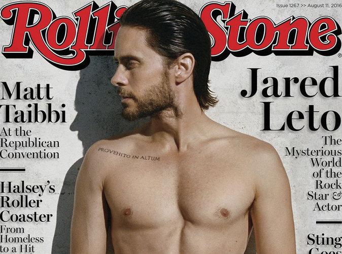 """Jared Leto : la star de """"Suicide Squad"""" torse nu en couverture de Rolling Stone"""