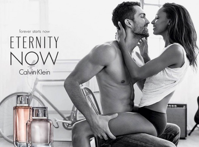 Jasmine Tookes : l'Ange Victoria's Secret in love de son homme pour Eternity Now de Calvin Klein !