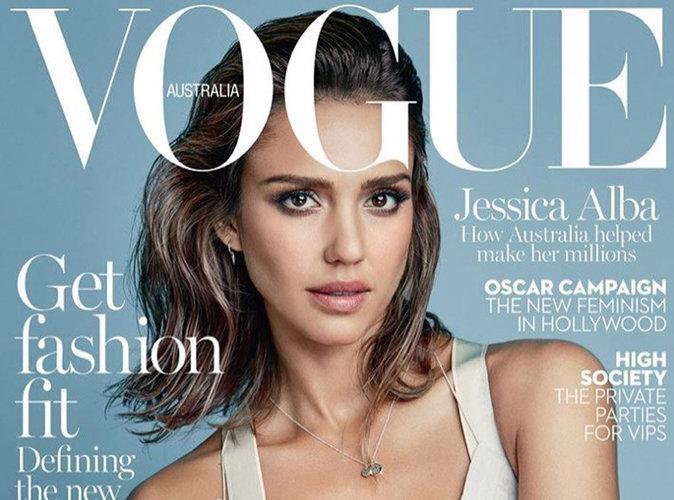 Jessica Alba : naturelle et captivante en couverture de Vogue Australie !